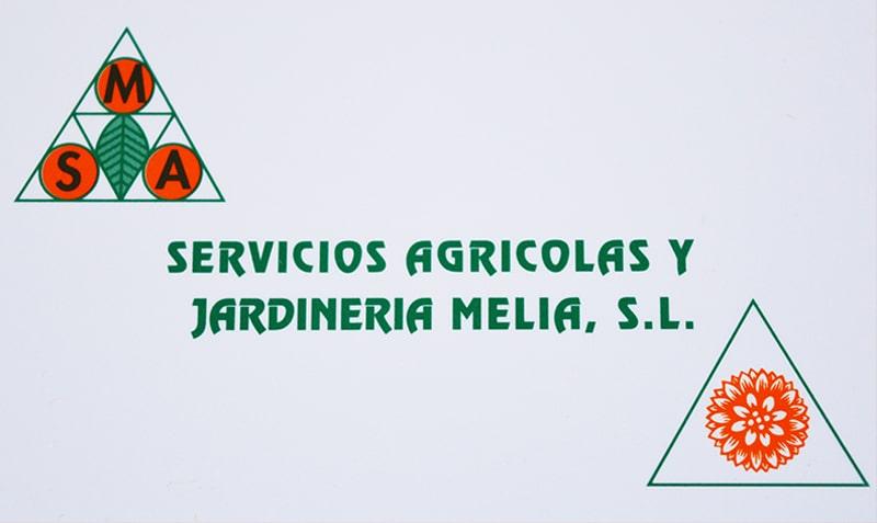 Servicios Agrícolas Meliá tarjeta visita actual