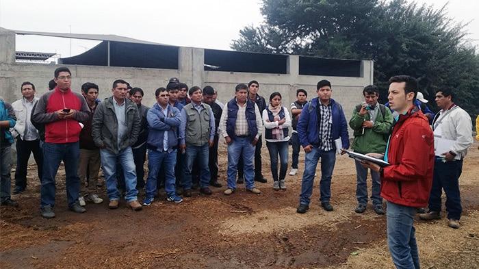 Viaje a Perú: optimización de los tratamientos fitosanitarios